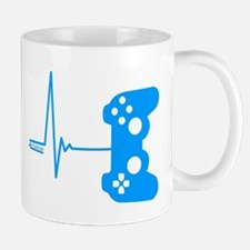 Gamer Heart Beat Mugs