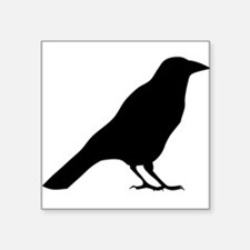 Crow Silhouette Sticker