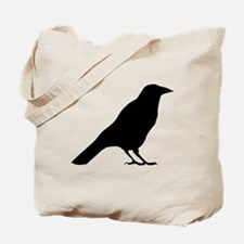 Crow Silhouette Tote Bag