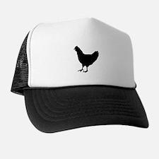 Chicken Silhouette Trucker Hat