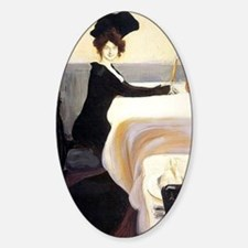 Vintage artwork: The Supper, painti Decal