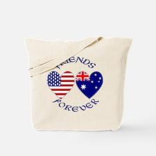 Australia USA Friends Tote Bag