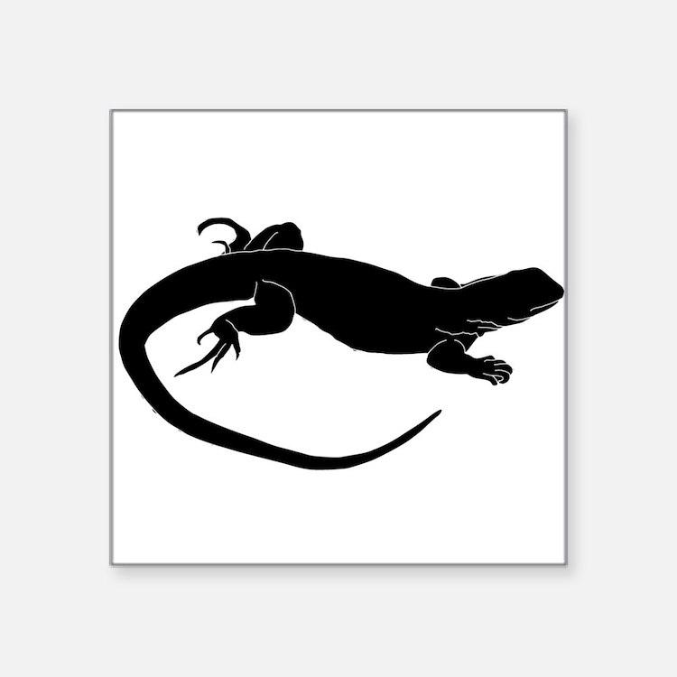 Lizard Silhouette Sticker