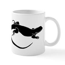 Lizard Silhouette Mugs