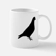 Pigeon Silhouette Mugs