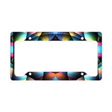Fractal Gaze License Plate Holder
