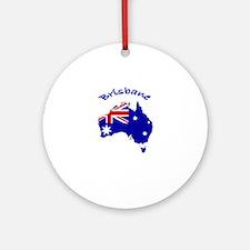 Brisbane, Australia Ornament (Round)