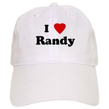 I Love Randy Baseball Cap