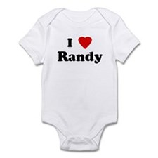 I Love Randy Infant Bodysuit