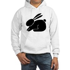 Bunny Silhouette Hoodie