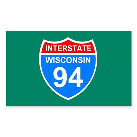 Iinterstate 94 <BR>Sticker