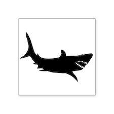 Shark Silhouette Sticker