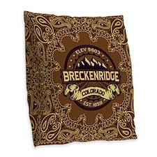 Breckenridge Sepia Burlap Throw Pillow