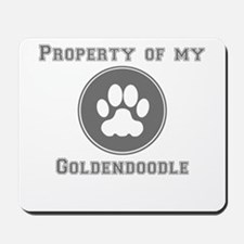 Property Of My Goldendoodle Mousepad