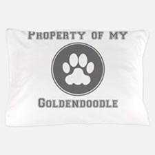 Property Of My Goldendoodle Pillow Case