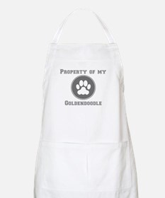 Property Of My Goldendoodle Apron