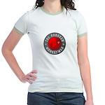 Hoboken Monkeyman Women's Ringer T-Shirt
