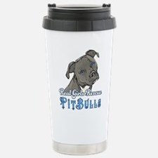 Real Girls Rescue Pitbulls Travel Mug