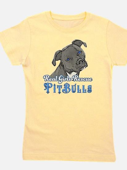 Real Girls Rescue Pitbulls Girl's Tee