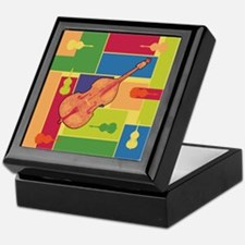 Double Bass Colorblocks Keepsake Box