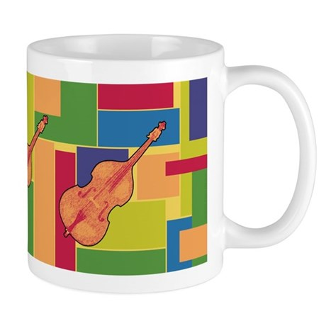 Double Bass Colorblocks Mug