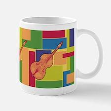 Double Bass Colorblocks Mug