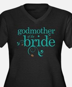 Godmother Of The Bride gift Plus Size T-Shirt