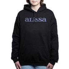 Alissa Blue Glass Hooded Sweatshirt
