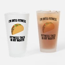 Cool Fitness Drinking Glass