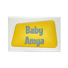 Baby Amya Rectangle Magnet