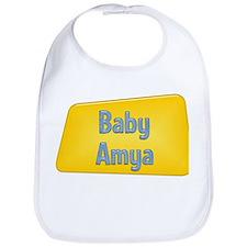 Baby Amya Bib