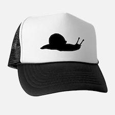 Snail Silhouette Trucker Hat