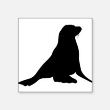 Sea Lion Silhouette Sticker