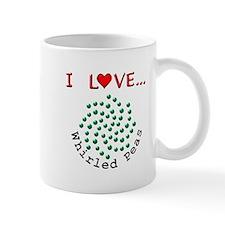 I Love Whirled Peas Small Mug