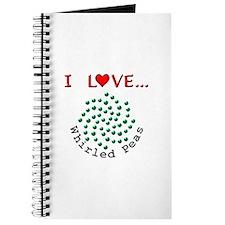 I Love Whirled Peas Journal