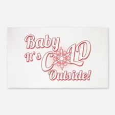 Baby Its COLD 3'x5' Area Rug