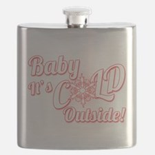 Baby Its COLD Flask