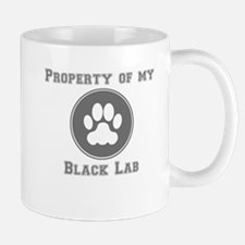 Property Of My Black Lab Mugs