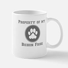 Property Of My Bichon Frise Mugs