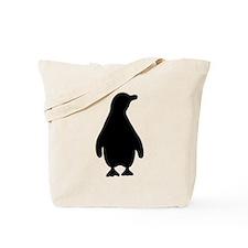 Penguin Silhouette Tote Bag