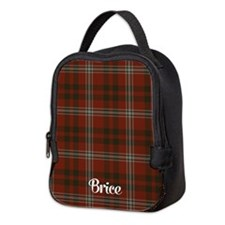 Brice Tartan Neoprene Lunch Bag