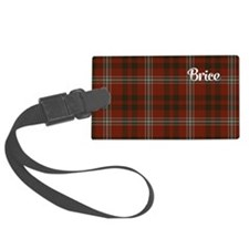 Brice Tartan Luggage Tag