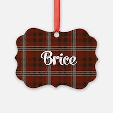 Brice Tartan Ornament