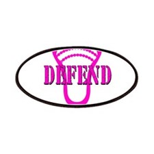 Lacrosse Defend Head Pink Patches