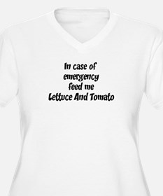 Feed me Lettuce And Tomato T-Shirt