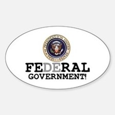 FERAL GOVERNMENT Decal