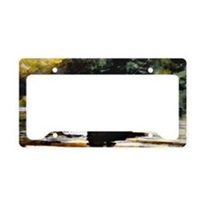 Winslow Homer - Boy Fishing License Plate Holder