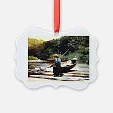 Winslow Homer - Boy Fishing Ornament