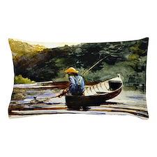 Winslow Homer - Boy Fishing Pillow Case