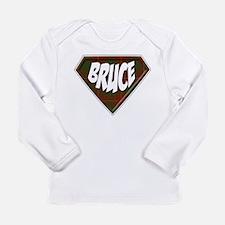 Bruce Superhero Long Sleeve Infant T-Shirt